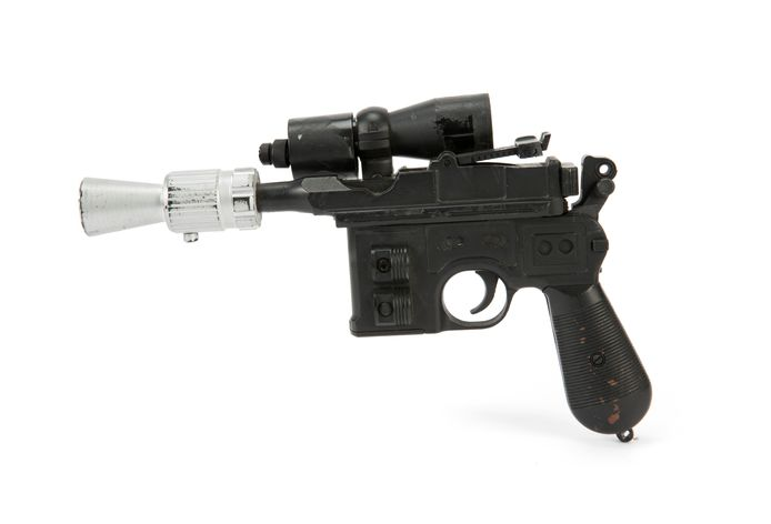 Han Solo's Blaster uit The Return of the Jedi.
