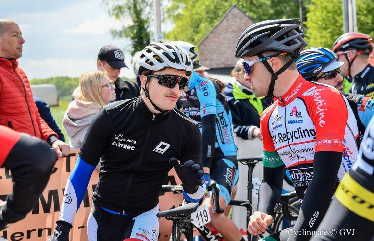 Trainingsmakkers Felix De Groef en Tom Verhaegen