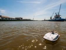 Testplek voor varende drones in Amsterdamse haven