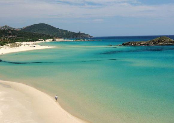 De vijf paradijselijke stranden van Chia in het zuiden van Sardinië.