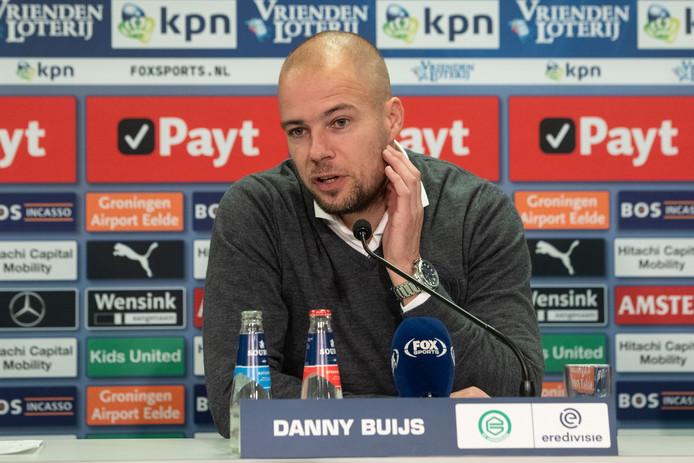 Danny Buijs, trainer van FC Groningen.