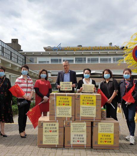 Slingeland krijgt 10.000 mondkapjes dankzij Chinees restaurant Doesburg