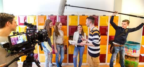 Leerlingen middelbare school ineens soapsterren