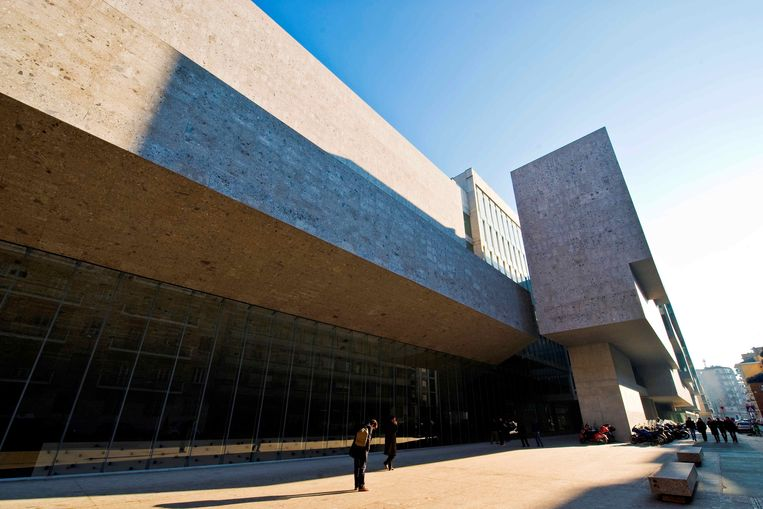 Ook Bocconi University, een particuliere universiteit in Milaan, werd ontworpen door het tweetal. Beeld Universal Images Group via Getty