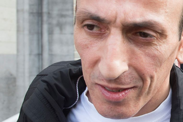 Farid Bamouhammad bij zijn vrijlating in 2015.