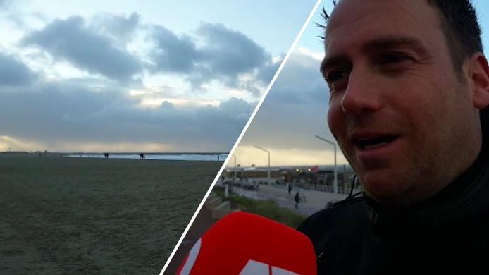Max blom spreekt over dodelijk ongeval met kitesurfer in Scheveningen