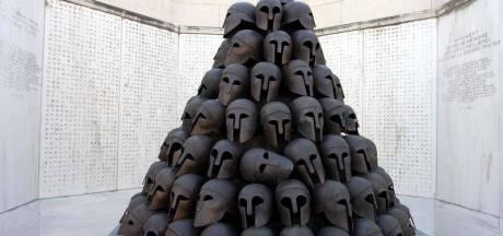 La priorité est de sécuriser le Mémorial Interallié et de recréer les casques volés