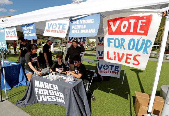 De jongerenorganisaties hopen dit jaar zo veel mogelijk leeftijdsgenoten te kunnen aanzetten te gaan stemmen.