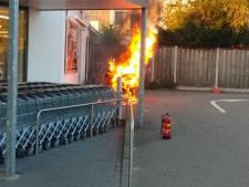 Brand scooter bij Lidl Sas van Gent was een ongeval