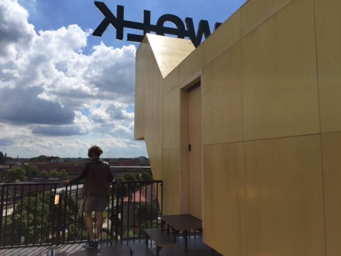 Wolk van de Bossche kunstenaar Lucas de Man en ontwerper Pascal Leboucq aan de Parallelweg.