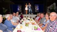 Prachtig seniorenfeest met Sasha en Davy