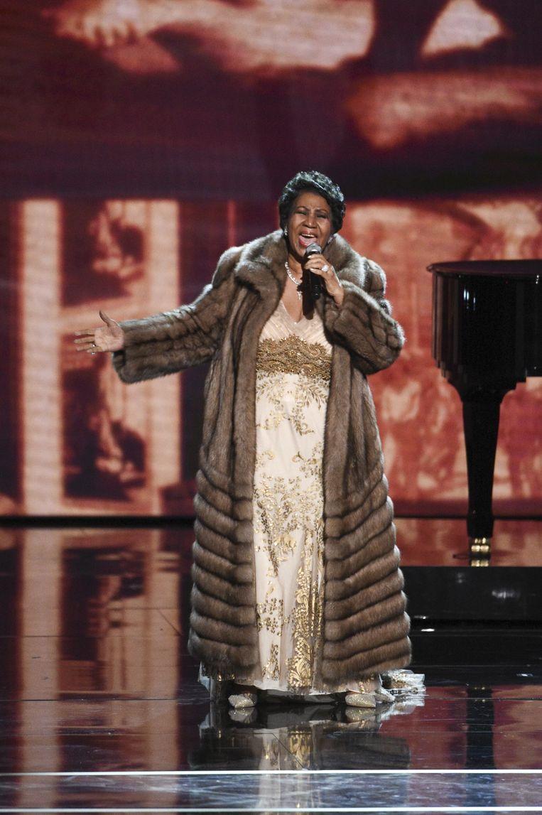 Aretha Franklin Beeld CBS via Getty Images