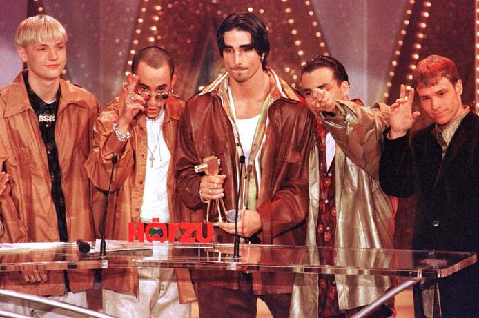 De Backstreet Boys in 1997.