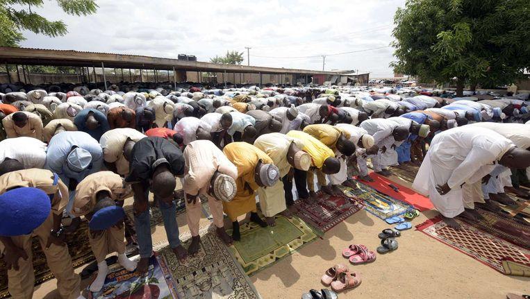 Archieffoto: gebed in Yola Beeld afp