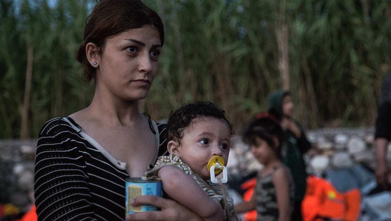 Als een alleenstaande Syrische vrouw in Nederland bevalt, is haar kind staatloos. Beeld Photo News