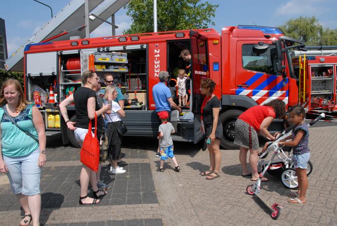 De open dag van de brandweer Schijndel trok naar schatting ruim duizend belangstellenden