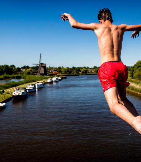 Extra controle op brugspringers tijdens zomerperiode: 'We weten waar de hotspots zijn'