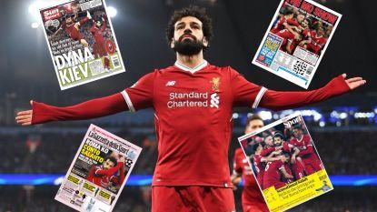 """Toonaangevende sportkranten buigen nederig het hoofd voor 'King Salah': """"Hij is een monster. Een wonder van de natuur"""""""