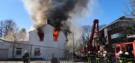 Uitslaande brand bij sloopwoning in Gilze