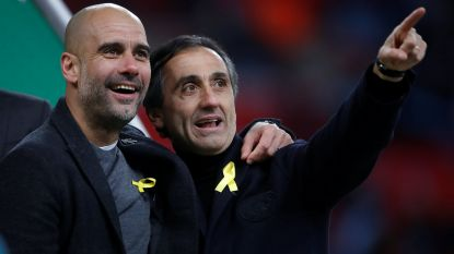 FT buitenland 25/02: Guardiola provoceert FA met geel lintje voor Catalonië - Invaller Januzaj onderuit in Valencia