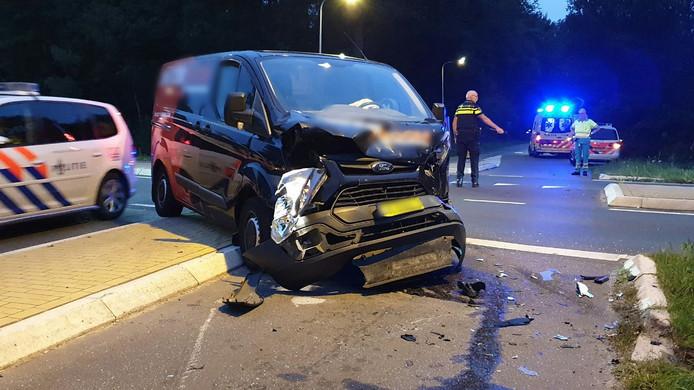 Een ongeval in Enschede, vorig jaar