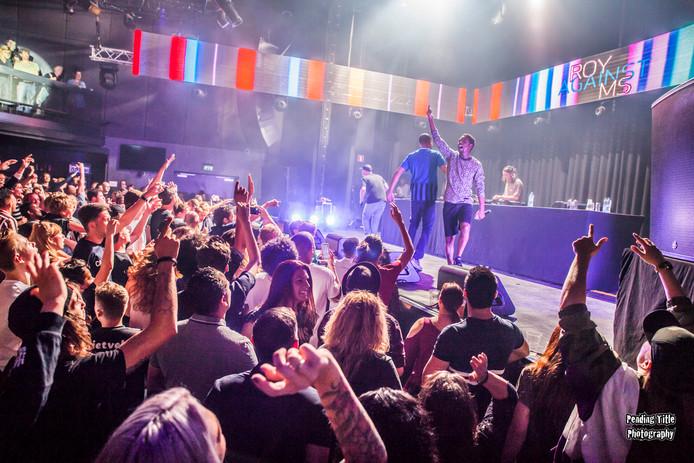 Sticks, Rico, Typhoon en Kubus traden net als alle andere artiesten afgelopen zaterdag in poppodium Hedon, belangeloos op voor de Zwolse DJ Roy El Kei.