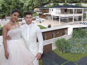 L'incroyable villa de Nick Jonas et Priyanka Chopra
