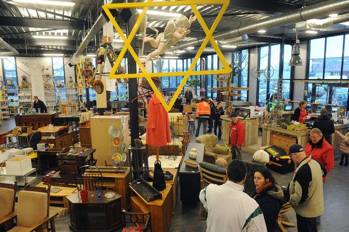 Een van de Kringloopwinkels van Foenix. Foto archief (van voor corona)