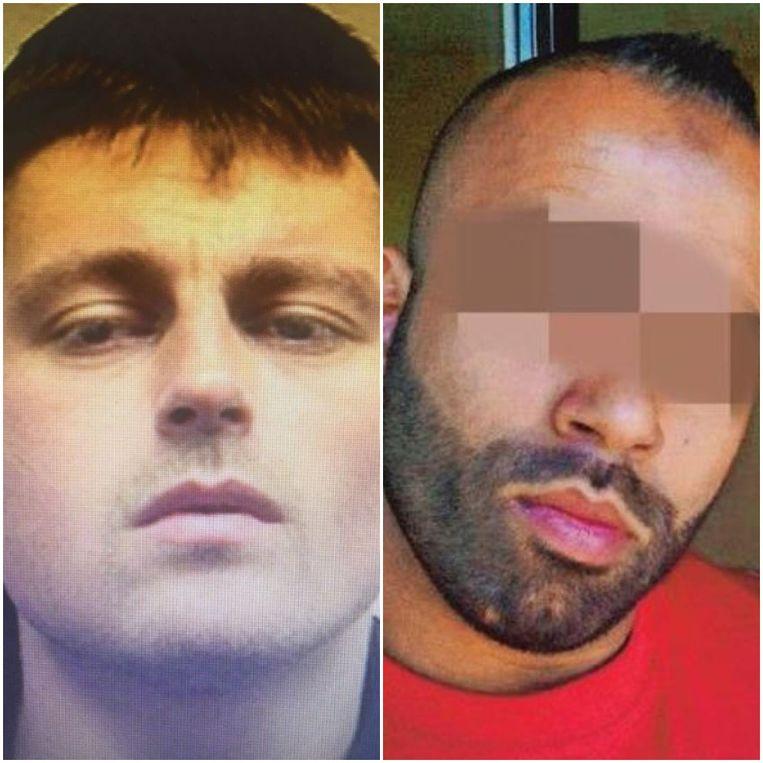 Links dader Benjamin Herman, die onder andere met hulp van Fouad D. (rechts) geradicaliseerd zou zijn in de gevangenis.