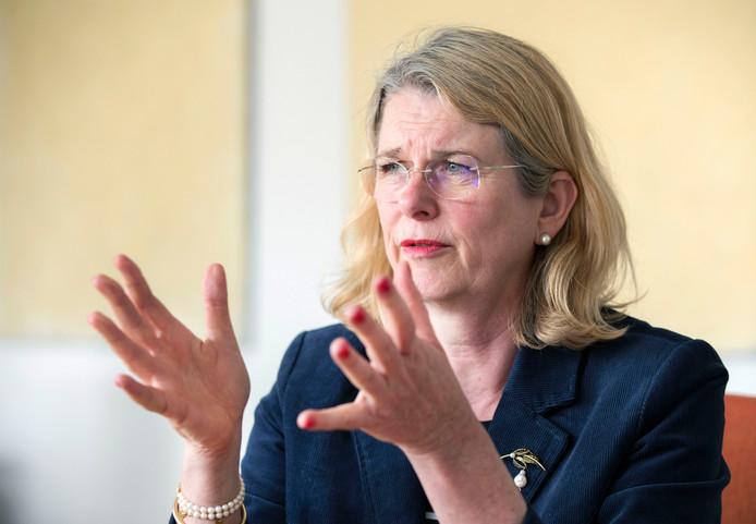 Burgemeester Pauline Krikke.