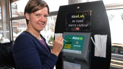 Alcoholtesters in ondergrondse parkings