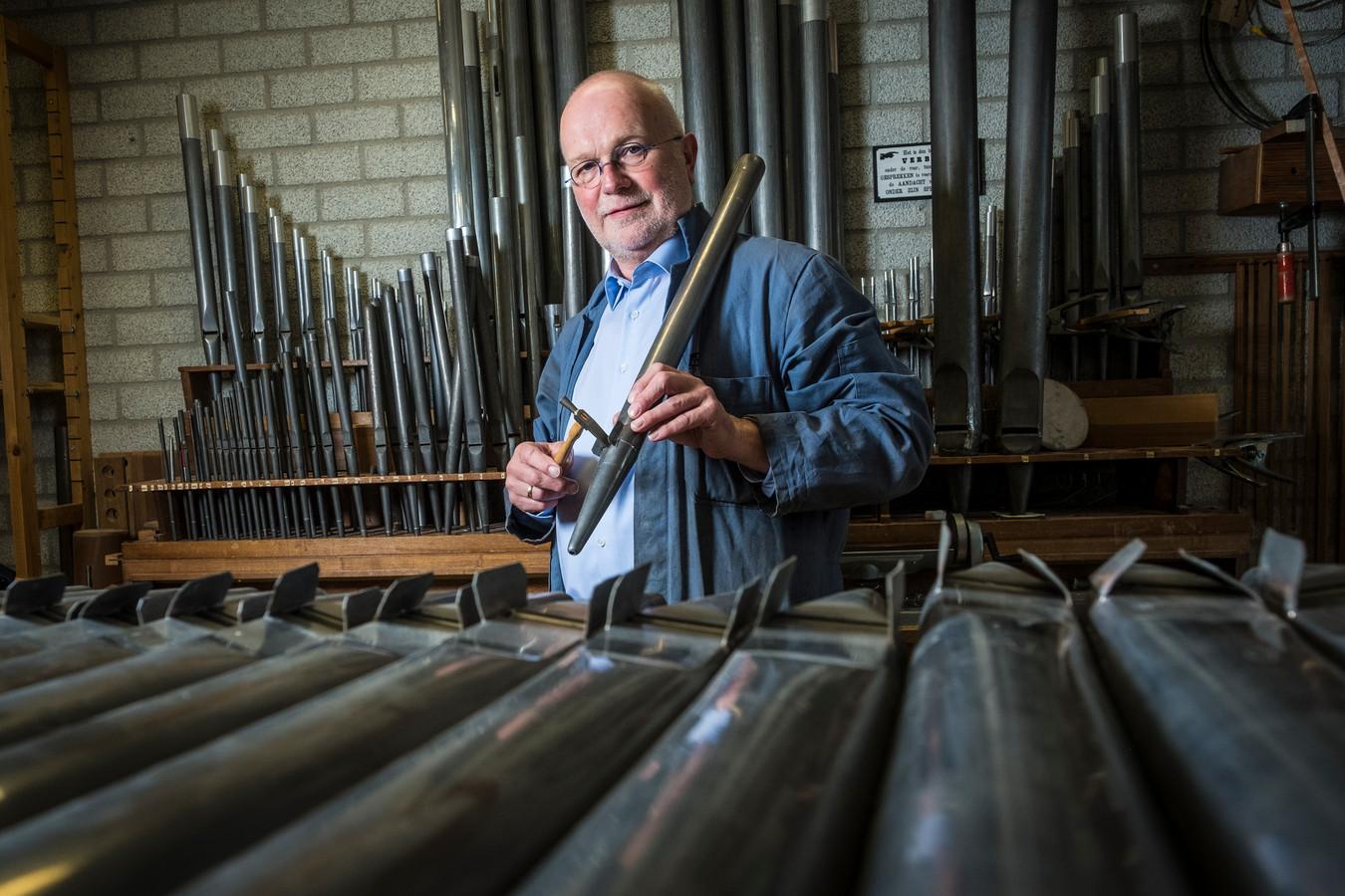 Jan Koelewijn  van orgelmakerij Reijl uit Heerde is koninklijk onderscheiden en is nu Officier in de Orde van Oranje Nassau.