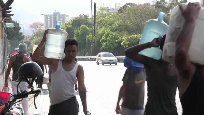 VIDEO. Stroompanne zorgt voor watertekort in Venezuela