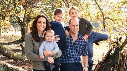 Glamoureuze Meghan versus casual Kate: Britse royals sturen jaarlijkse kerstkaarten uit