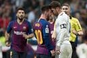 Lionel Messi en Sergio Ramos.