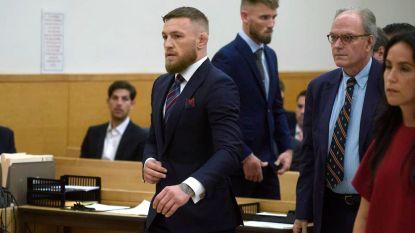 McGregor bekent schuld in strafzaak en ontloopt op die manier celstraf