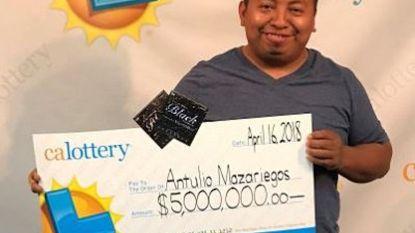 Vierde lottowinst in zes maanden levert man in totaal meer dan zes miljoen op