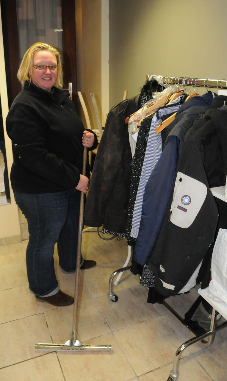Valerie Deknock haalde ook vrijdag de trekker nog eens over de vloer.