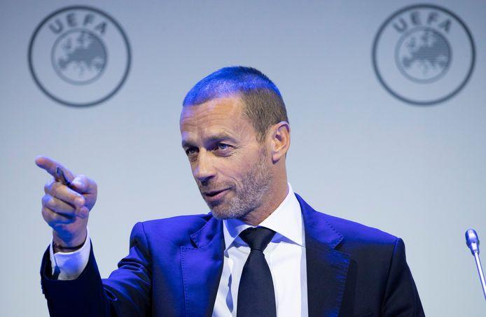 Aleksander Čeferin, le président de l'UEFA.