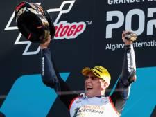Arenas pakt wereldtitel Moto3 na twaalfde plek in Portugal