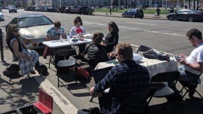 San Francisco nu zo duur dat bewoners parkeerplaatsen inpalmen als werkplek