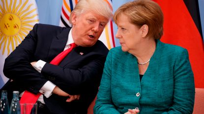 Trump en Merkel plannen ontmoeting in Washington