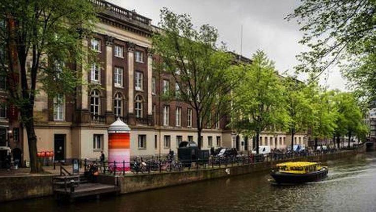 Het voormalige Paleis van Justitie op de Prinsengracht. Beeld anp