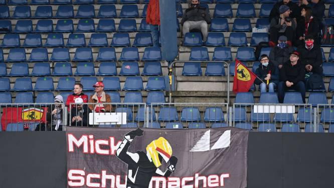 Mist is spelbreker in F1-oefenritten op Nürburgring, Mick Schumacher ziet debuut in water vallen