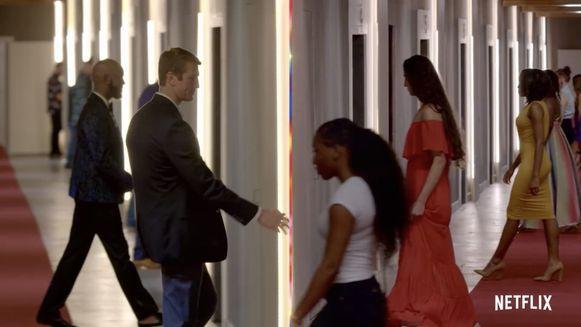 'Love is Blind' | In 'Love is Blind' gaan 30 mannen en vrouwen letterlijk op blind date. Zonder elkaar te zien, bepalen ze na een reeks gesprekken met wie ze willen trouwen.