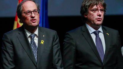 Puigdemont roept gevangen Catalaanse separatisten op om hongerstaking te stoppen