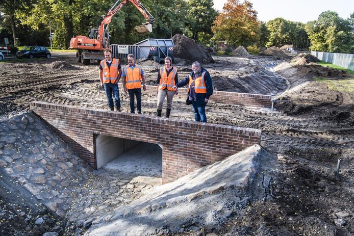 De aanleg van een stadsbeek in Enschede is een maatregel die in aanmerking komt voor een bijdrage.