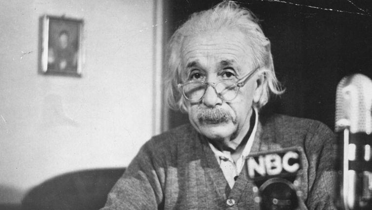 Albert Einstein. Beeld anp