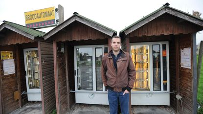 'Broodautomaat-dieven' op heterdaad betrapt
