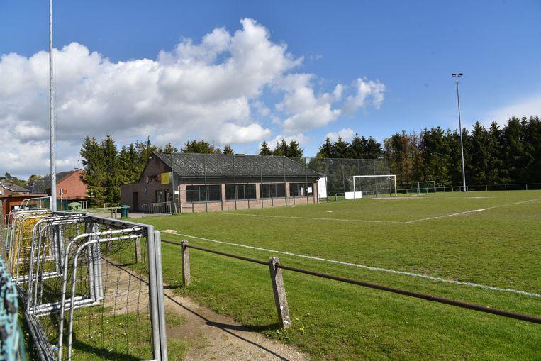 Het hudige veld van FC Moorsel